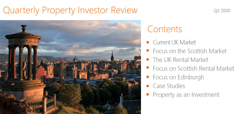 Edinburgh Property Market Investor REview 2020 Q2
